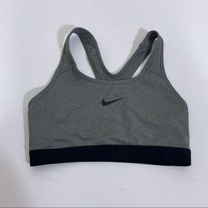 Nike Dri-Fit Grey Sports Bra